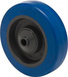 Serija PB – kolesa z modro elastično gumo in pocinkanim ohišjem – srednje nosilnosti