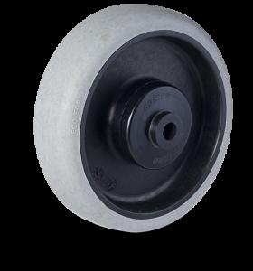 Serija PC – antistatik kolo a sivo gumo Ecoforma® in pocinkanim ohišjem – majhna nosilnost