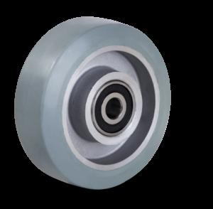 aluminijasto kolo s sivo elastično gumo