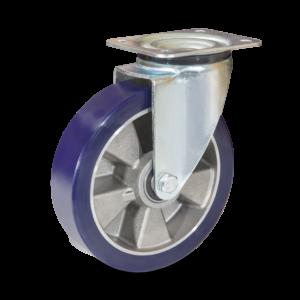 aluminijasto kolo z mehkim poliuretanom