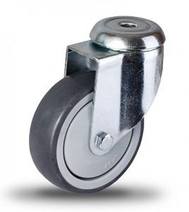 Serija JDPE/BDPE – kolesa za aparate s termoplastično gumo in pocinkanim ohišjem – majhna nosilnost