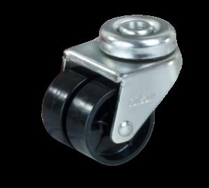 Serija JDPP TWIN – kolesa za hladilnik iz polipropilena s pocinkanim ohišjem